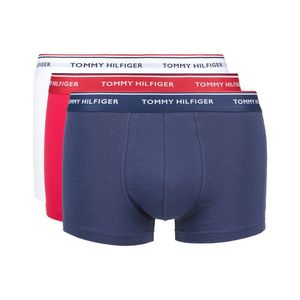 Tommy Hilfiger 3-pack Bokserki Niebieski Biały obraz