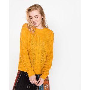 Vero Moda Alpine Sweter Żółty obraz