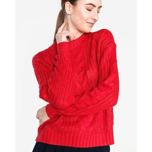 Vero Moda Alpine Sweter Czerwony obraz