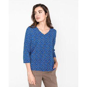 Vero Moda Satifa Bluzka Niebieski obraz