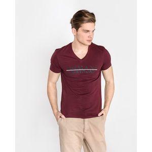 Armani Exchange Koszulka Czerwony obraz