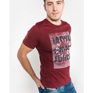 Jack & Jones Denim Koszulka Czerwony obraz