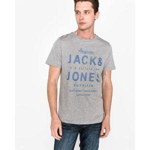 Jack & Jones Motors Koszulka Szary obraz