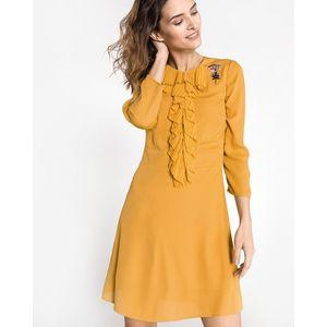 Silvian Heach Benifla Sukienka Żółty obraz