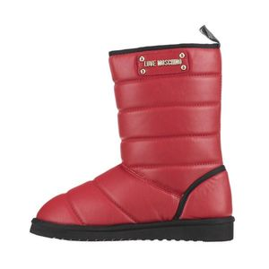 Love Moschino Śniegowce Czerwony obraz