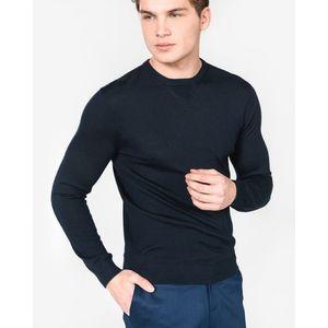 Armani Exchange Sweter Niebieski obraz