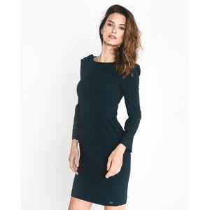 Armani Exchange Sukienka Niebieski obraz