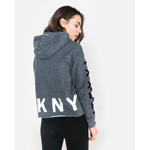 DKNY Boxy Bluza Szary obraz