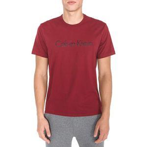 Calvin Klein Koszulka do spania Czerwony obraz