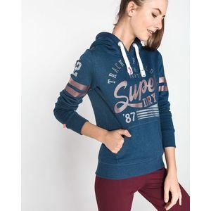 SuperDry Bluza Niebieski obraz