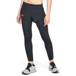 Under Armour Speedpocket 2-in-1 Runner Legginsy Czarny obraz