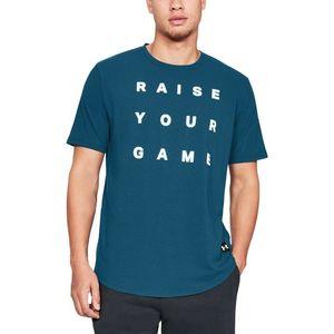 Under Armour Raise Your Game Koszulka Niebieski obraz