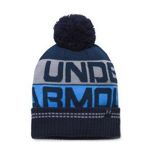 Under Armour Retro Pom 2.0 Czapka zimowa Niebieski obraz
