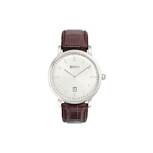 Hugo Boss Zegarek Brązowy Srebrny obraz