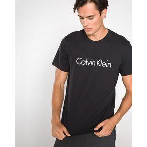 Calvin Klein Koszulka do spania Czarny obraz
