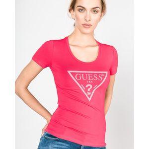 Guess Koszulka Różowy obraz