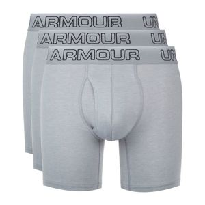 "Under Armour Charged Cotton® Stretch 6"" 3-pack Bokserki Szary obraz"