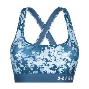 Under Armour Armour® Mid Biustonosz Niebieski obraz