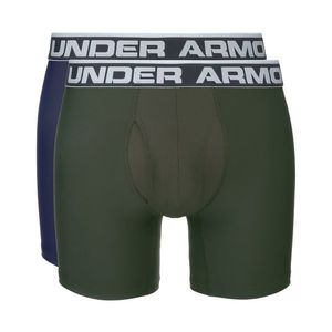 "Under Armour Original Series 6"" 2-pack Bokserki Niebieski Zielony obraz"