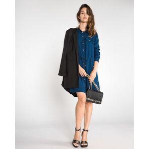 Versace Jeans Sukienka Niebieski obraz