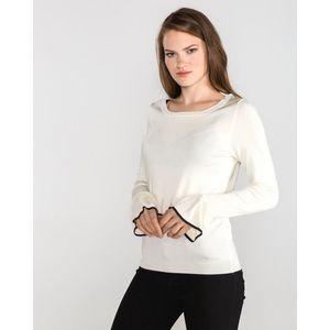 Vero Moda Chelsey Sweter Biały obraz