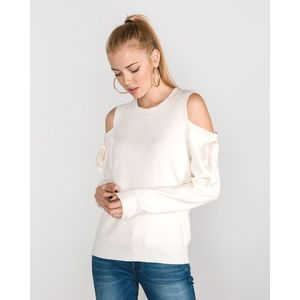 Vero Moda Celena Sweter Biały obraz