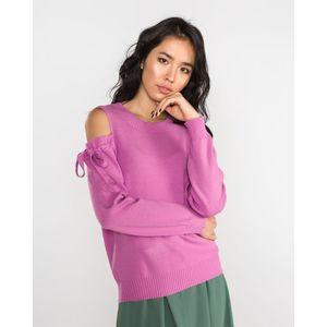 Vero Moda Celena Sweter Różowy obraz