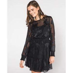 Vero Moda Nynne Sukienka Czarny obraz