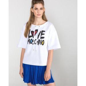 Love Moschino Bluza Biały obraz