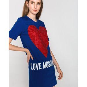 Love Moschino Sukienka Niebieski obraz