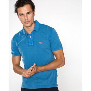 Napapijri Taly Polo koszulka Niebieski obraz