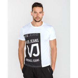 Versace Jeans Koszulka Czarny Biały obraz