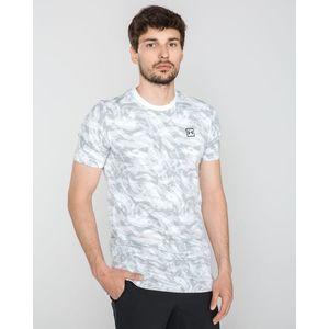 Under Armour AOP Koszulka Biały Szary obraz