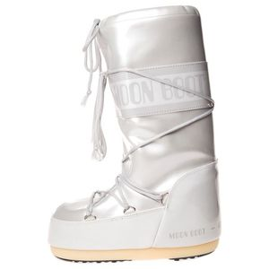 Moon Boot MB Vinile Metal Śniegowce Biały obraz