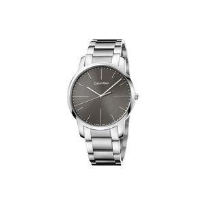 Calvin Klein City Zegarek Szary Srebrny obraz