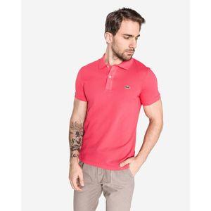 Lacoste Polo Koszulka Różowy obraz