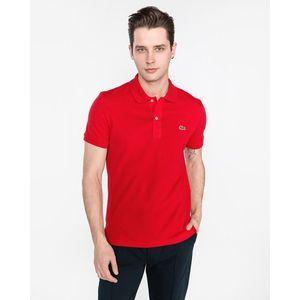 Lacoste Polo Koszulka Czerwony obraz