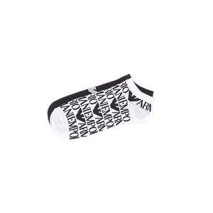 Emporio Armani 2-pack Skarpetki Czarny Biały obraz