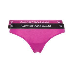 Emporio Armani 2-pack Spodenki Czarny Różowy obraz