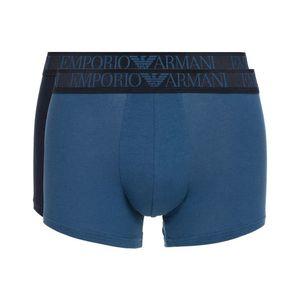Emporio Armani 2-pack Bokserki Czarny Niebieski obraz