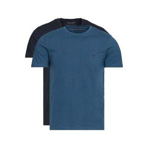 Emporio Armani 2-pack Dolna koszulka Niebieski obraz
