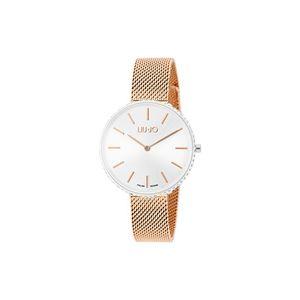 Liu Jo Glamour Globe Maxi Zegarek Srebrny Beżowy obraz