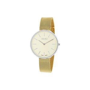Liu Jo Glamour Globe Maxi Zegarek Żółty Złoty obraz