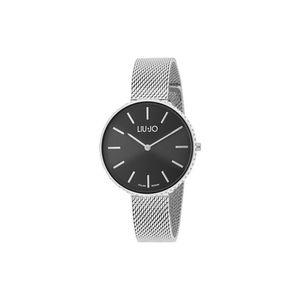 Liu Jo Glamour Globe Maxi Zegarek Czarny Srebrny obraz