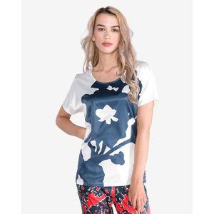 GAS Melyn Big Flower Koszulka Biały obraz