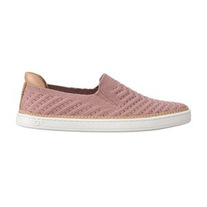 UGG Sammy Chevron Metallic Slip On Różowy Beżowy obraz
