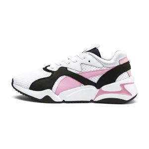 Puma Nova 90's Bloc Tenisówki Różowy Biały obraz
