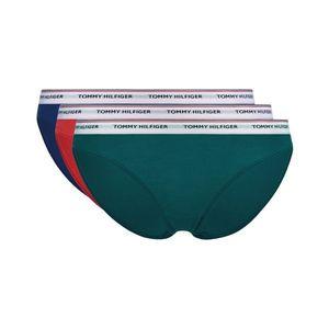 Tommy Hilfiger 3-pack Spodenki Niebieski Zielony Czerwony obraz