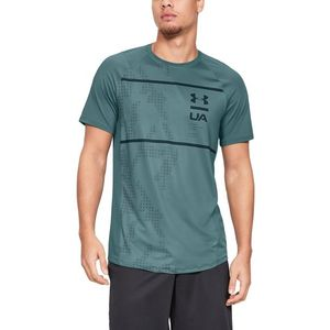 Under Armour MK-1 Koszulka Niebieski Zielony obraz