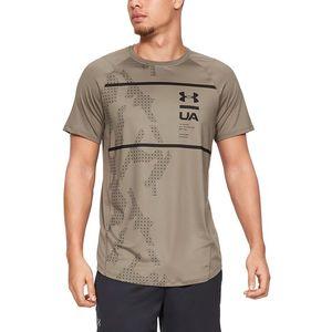 Under Armour MK-1 Koszulka Brązowy obraz